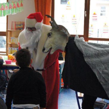 Der Nikolaus kam und alle hatten ihren Spaß!