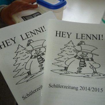 Hey Lenni!