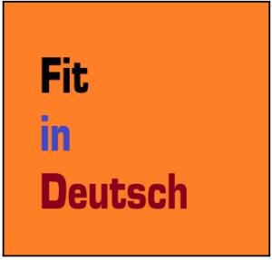 Fit in Deutsch